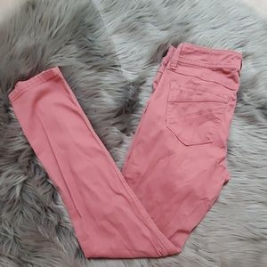 Rue 21 Rose Colored Jeans Size 5/6